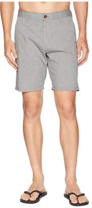VISSLA Palms Hybrid Two-Way Stretch Walkshorts Men's Shorts