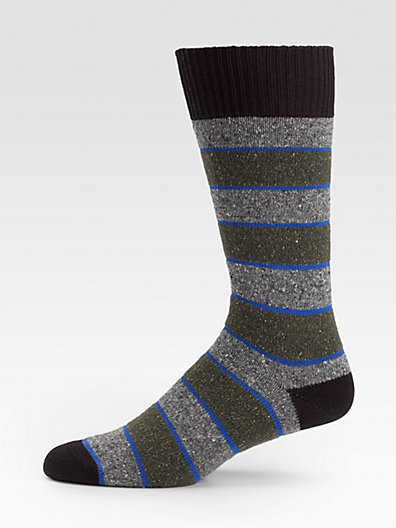 Paul Smith Antique Stripe Socks