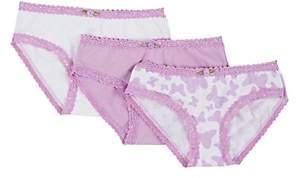 Esme Cotton-Blend Bikini Brief Set