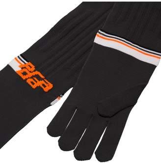 Prada Technical Nylon Gloves
