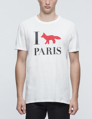 Maison Kitsune I Fox Paris S/S T-Shirt $75 thestylecure.com