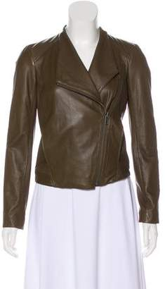 Helmut Lang Leather Moto Jacket