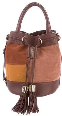 See by Chloe Leather-Trimmed Bucket Bag
