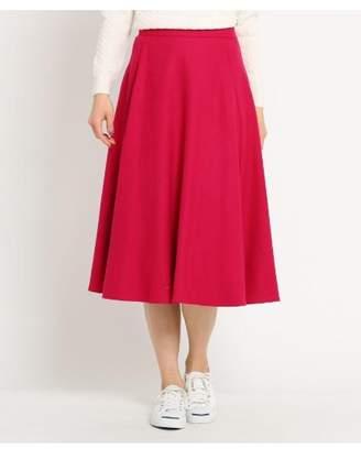 Dessin (デッサン) - Ladies [後ろウエストゴム]Aラインフレアミディ丈スカート