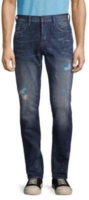 PRPS Slim-Fit Distressed Jeans