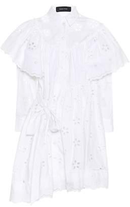 Simone Rocha Cotton eyelet lace dress