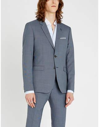 The Kooples Slim-fit polka dot cotton shirt