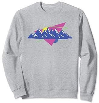 Retro Ski sweatshirt pullover Vintage Snow Ski sweatshirt