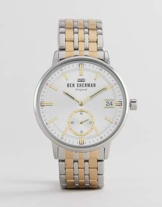 Ben Sherman WB071GSM Bracelet Watch In Mixed Metal