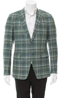 Etro Two-Button Silk Blazer