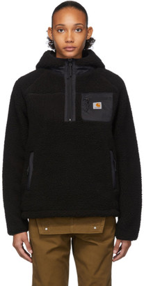 Carhartt Work In Progress Black Prentis Pullover Hoodie