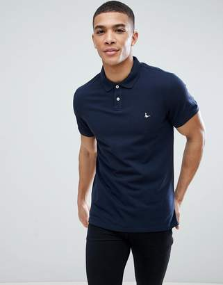 Jack Wills Aldgrove Polo Shirt in Navy