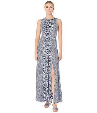 MICHAEL Michael Kors Mix Ikat Seamed Maxi Dress