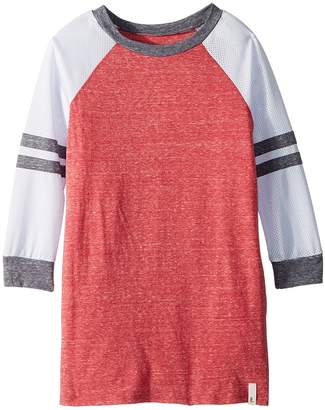 Maddie by Maddie Ziegler Long Sleeve Color Block Knit Dress Girl's Dress