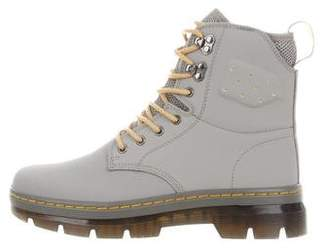Dr. Martens Round-Toe Ankle Boots