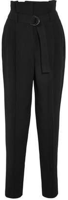 Vanessa Bruno Harrison Crepe Tapered Pants - Black