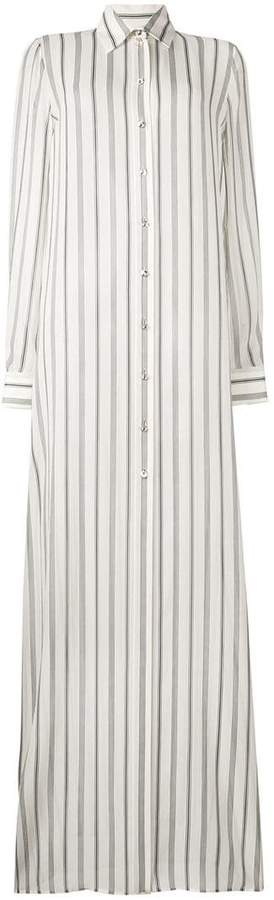 Lanvin long striped shirt