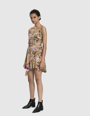 Leilani Farrow Floral Mini Dress