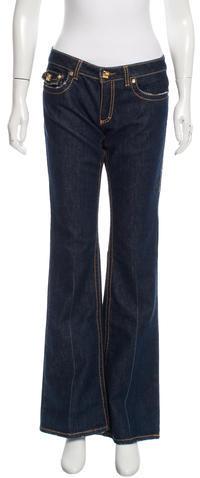 Roberto CavalliRoberto Cavalli Embellished Flared Jeans w/ Tags