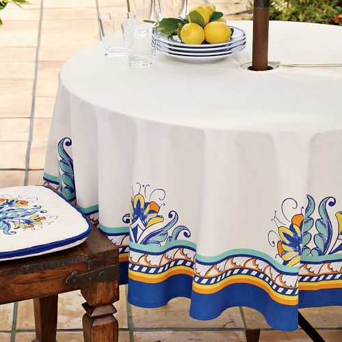 Mediterranean Patio Tablecloths