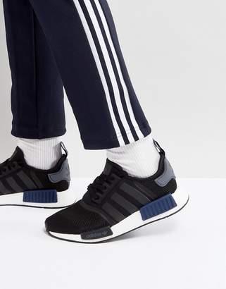 adidas NMD R1 PK Sneakers In Black S76841