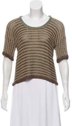 Rag & Bone Short Sleeve Knit Sweater