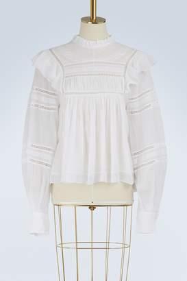 Etoile Isabel Marant Cotton Viviana blouse