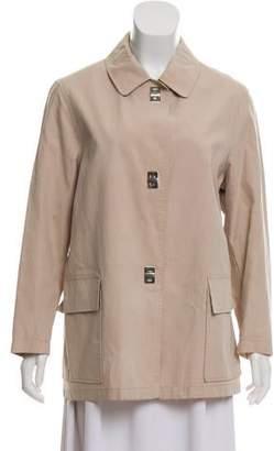Burberry Lightweight Pointed Collar Jacket