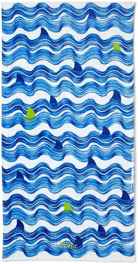 Lands'end Kids Surprise Velour Beach Towel