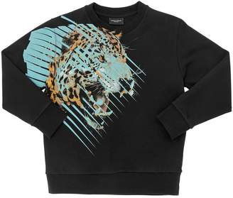 Marcelo Burlon County of Milan TIGER コットンスウェットシャツ