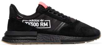 adidas black and bluebird ZX 500 RM sneakers