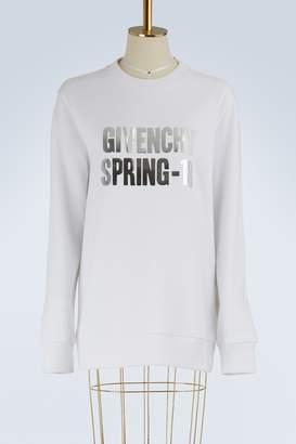 Givenchy Spring-18 oversized sweatshirt