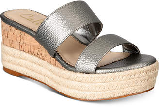 Callisto Foundation Espadrille Platform Wedge Sandals Women's Shoes