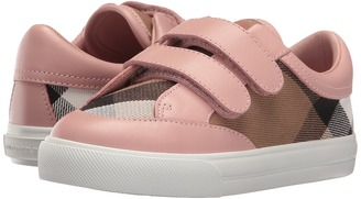 Burberry Kids - Mini Heacham Sneaker Girl's Shoes $185 thestylecure.com