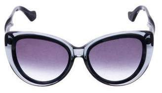 Balenciaga Oversize Cat-Eye Sunglasses