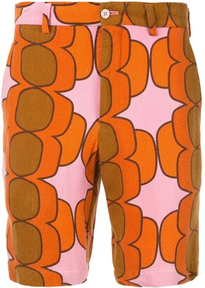 Comme des Garcons Pre-Owned '70s print shorts