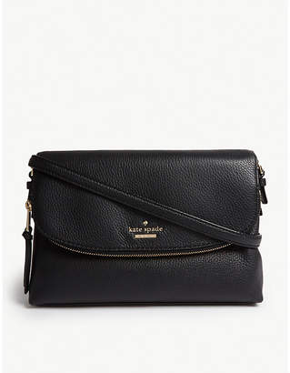 Kate Spade Jackson Street Harlyn grained leather cross-body bag