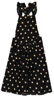 Emile et Ida Sale - Dot Long Pinafore Dress