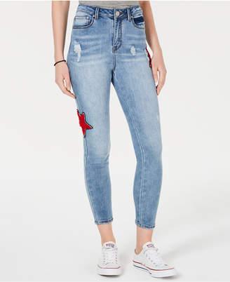 Indigo Rein Juniors' Star Skinny Jeans