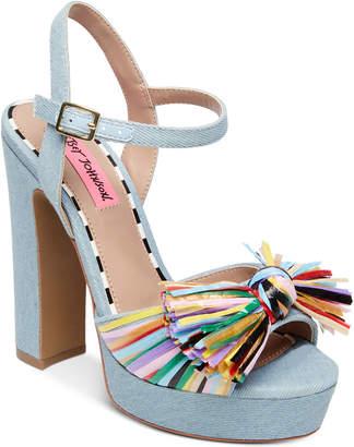 Betsey Johnson Mandy Dress Sandals Women's Shoes