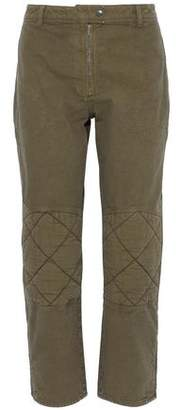 J.W.Anderson Quilted-Paneled Cotton-Canvas Straight-Leg Pants