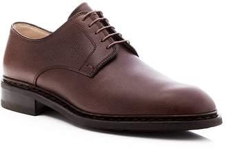 Paraboot Chopin Plain Toe Derby Shoes $570 thestylecure.com