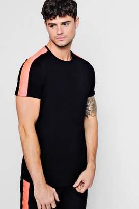 boohoo Neon Tape T-Shirt