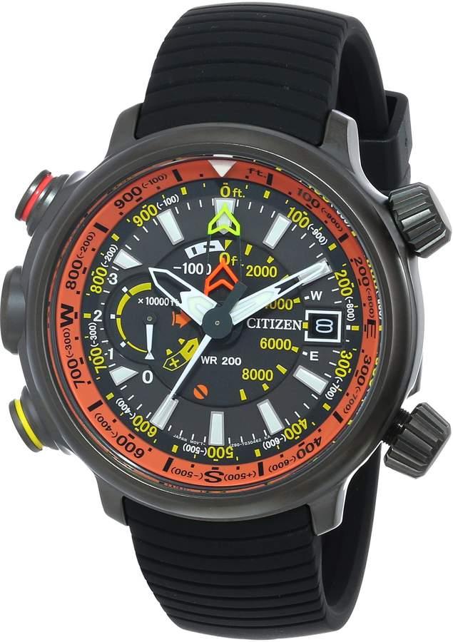 "Citizen Men's BN5035-02F ""Altichron"" Titanium Eco-Drive Watch"