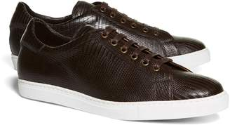 Brooks Brothers Lizard Sneakers