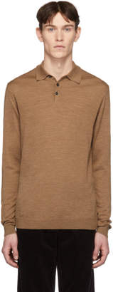 Norse Projects Brown Merino Johan Polo