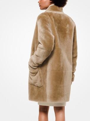 MICHAEL Michael Kors Shearling Cocoon Coat
