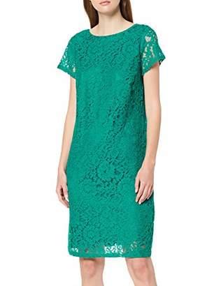 Dorothy Perkins Women's Jade Green Boat Neck LACE Shift Dress, 341, 8 (Size:8)