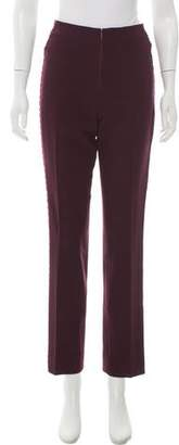 Christian Lacroix Wool High-Rise Pants