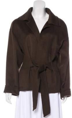 Oscar de la Renta Wool & Angora Jacket